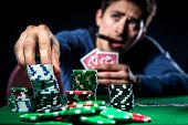 Постер, плакат: Pokera Player