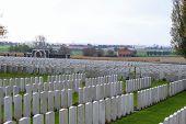 stock photo of world war one  - Great world war 1 flanders fields belgium Cemetery  - JPG