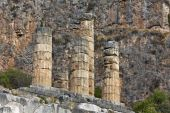 Temple of Apollo at Delphi in Greece