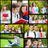 Collage of students pictures