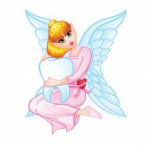 foto of tooth-fairy  - Tooth Fairy Image Illustration Editable  - JPG