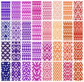 Set of 24 patterns.