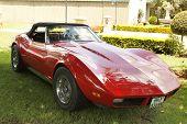 Vintage Car 1973 Chevrolet Stingray Corvette