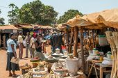 Market In Livingstone
