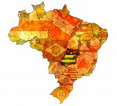 Goias State On Map Of Brazil