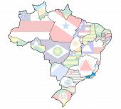 Rio De Janeiro State On Map Of Brazil