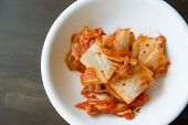 Kimchi Salad Of Korean Food Traditional