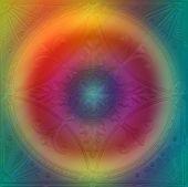 abstract Bullseye design