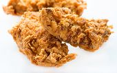 Crunchy chicken strips