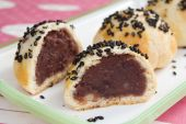Red Bean Moon Cakes