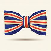 Britain flag bow-tie