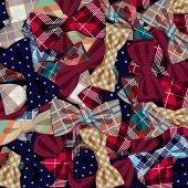 Pattern of vector bow-ties