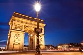 Place Charles De Gaulle, Arc De Triomphe, Paris, France
