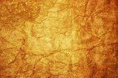 Cracked Orange Wall