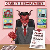 Devilish credit.