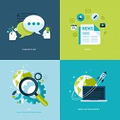 stock photo of blog icon  - Icons for consulting - JPG