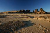 Footprints in Sahara