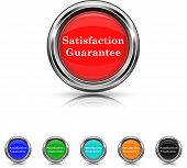 Satisfaction Guarantee Icon - Six Colors Vector Set