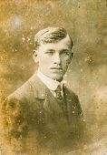 POLAND, SEPTEMBER 1914 - Vintage portrait of man