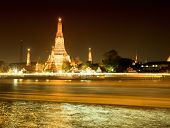 Wat Arun at night, Bangkok, Thailand