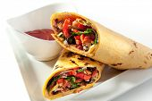 Burrito with Vegetables