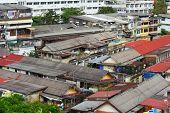 Slum area in Bangkok