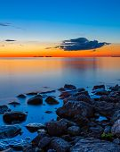 Sunset Over Sister Bay