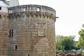 Tower Of Castle Of The Dukes Of Brittany In France