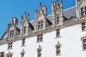 Facade Of Palace In Castle Of Dukes Of Brittany