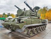 Antiaircraft missile system Tunguska M1. Russia