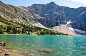 Crypt Lake In Waterton National Park, Alberta, Canada