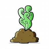 stock photo of smelly  - cartoon smelly poop - JPG