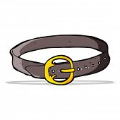 cartoon old belt