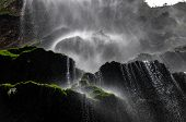 Beautiful Waterfall In Canyon Of Sumidero, Mexico