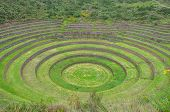 Moray Inca's Ruins, Sacred Valley in Peru
