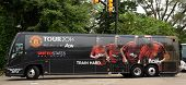Manchester United Bus In Ann Arbor
