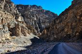 Titus Canyon In Death Valley National Park, California, Usa