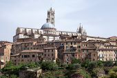 Historic Centre Of Siena, Italy Has Been Declared By Unesco A World Heritage Site. It Is One Of The