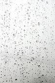 Raindrop on a mirror