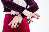 Clouse Up Hands With Castanets
