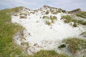 Dune Blowout With Marram Grass
