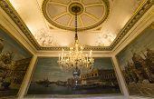 Interiors of Royal Palace, Brussels, Belgium