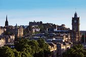 Edinburgh skyline from Calton Hill