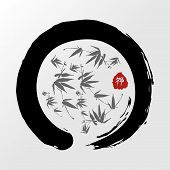 Zen Circle Illustration