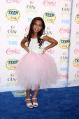 LOS ANGELES - AUG 10:  Asia Monet Ray at the 2014 Teen Choice Awards at Shrine Auditorium on August