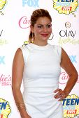 LOS ANGELES - AUG 10:  Candace Cameron Bure at the 2014 Teen Choice Awards Press Room at Shrine Audi