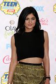 LOS ANGELES - AUG 10:  Kylie Jenner at the 2014 Teen Choice Awards at Shrine Auditorium on August 10, 2014 in Los Angeles, CA