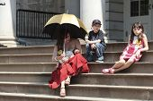 Public breastfeeding on City Hall steps