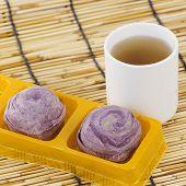 Taro Purple Bread Chinese Style