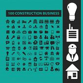 foto of skid-steer  - construction business isolated icons - JPG